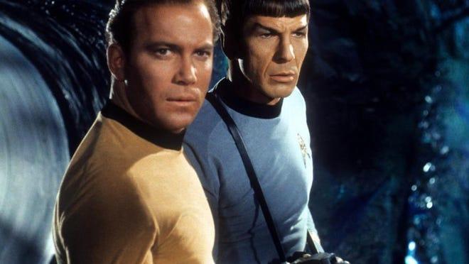 "William Shatner trong vai Thuyền trưởng Kirk trong ""Star Trek: The Original Series."""