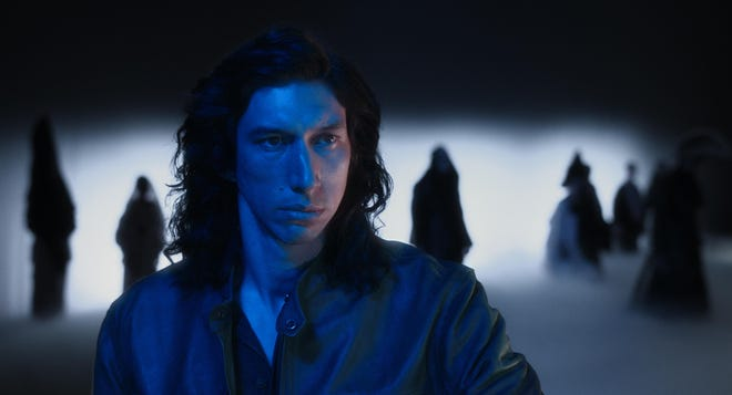 """Adam Driver stars as a standup comedian with a toxic personality in """"Annette."""""""
