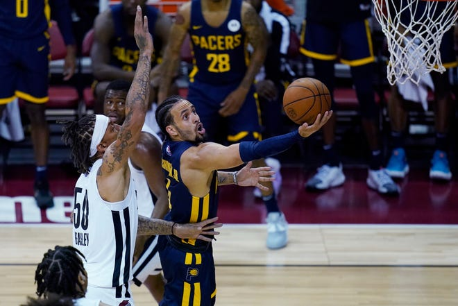 In five games with the Indiana Pacers' summer league team,Duane Washington Jr. averaged 10.4 points while shooting 48.6%.