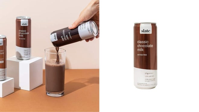 Classic chocolate milk gets an upgrade in this protein-rich, naturally sweet option from Slate.