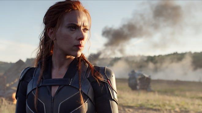 """Scarlett Johansson stars in """"Black Widow."""""""