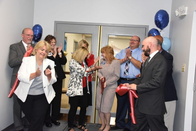 In this file photo, a celebration was held after cutting a ribbon  to mark the opening of Clarion University's nursing program in the Somerset County Education Center. Shown are: Commissioners Gerald Walker and Pamela Tokar-Ickes; Kristine Wolff, chief nursing officer for UPMC Somerset; Linda Fetterolf and Michele Beener, co-chairwomen of the Somerset County Foundation for Higher Education; Debra Sobina, assistant dean of the College of Health and Human Services; Edward John Pavlosky Jr., lead educator of the new nursing program; state Sen. Pat Stefano; Commissioner Pat Terlingo; and state Rep. Carl Walker Metzgar.