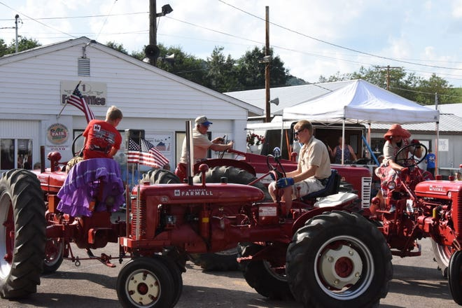 The Roof Garden Tractor Buddies do a do-si-do at the Somerset County Fair. They will be back this year at 5 p.m. Saturday