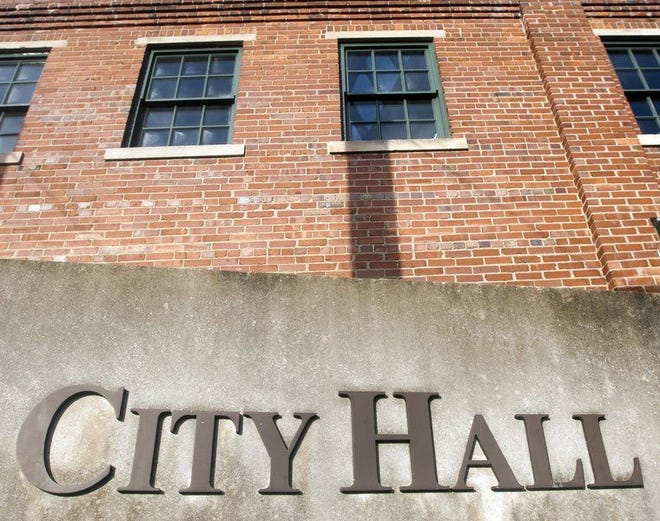 Bloomington's City Hall used to be part of the Showers Brothers furniture factory.