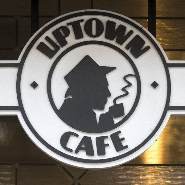 Uptown Cafe is a downtown Bloomington restaurant with a creole-themed menu.
