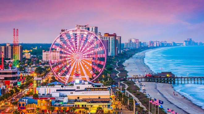 Myrtle Beach, S.C., is a classic family beach spot that can keep everyone in your group occupied for days.