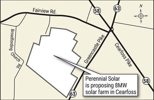 Perennial Solar map