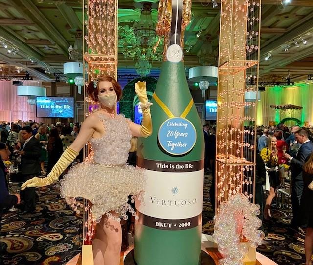 Virtuoso popped the cork on another Travel Week conference engaging the world.