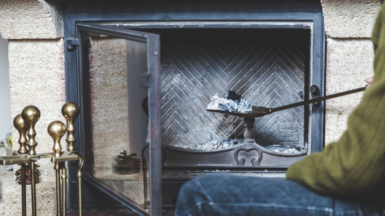 Don't clean your fireplace with a vacuum—instead, use this