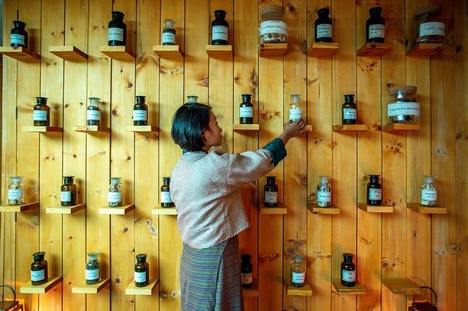 High altitude herbs at the Bhutan Spirit Sanctuary