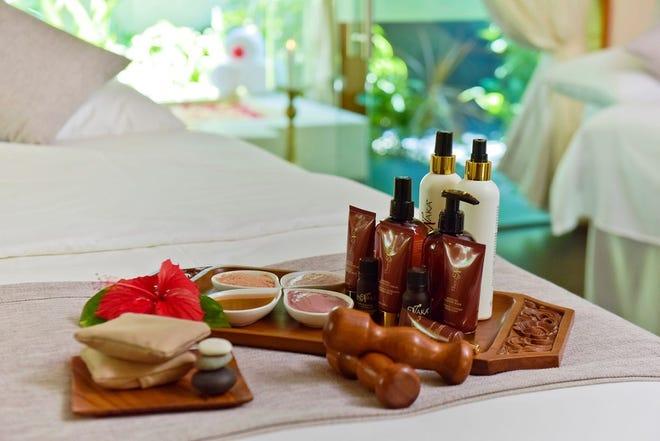 Wood-based treatments, Baros Maldives