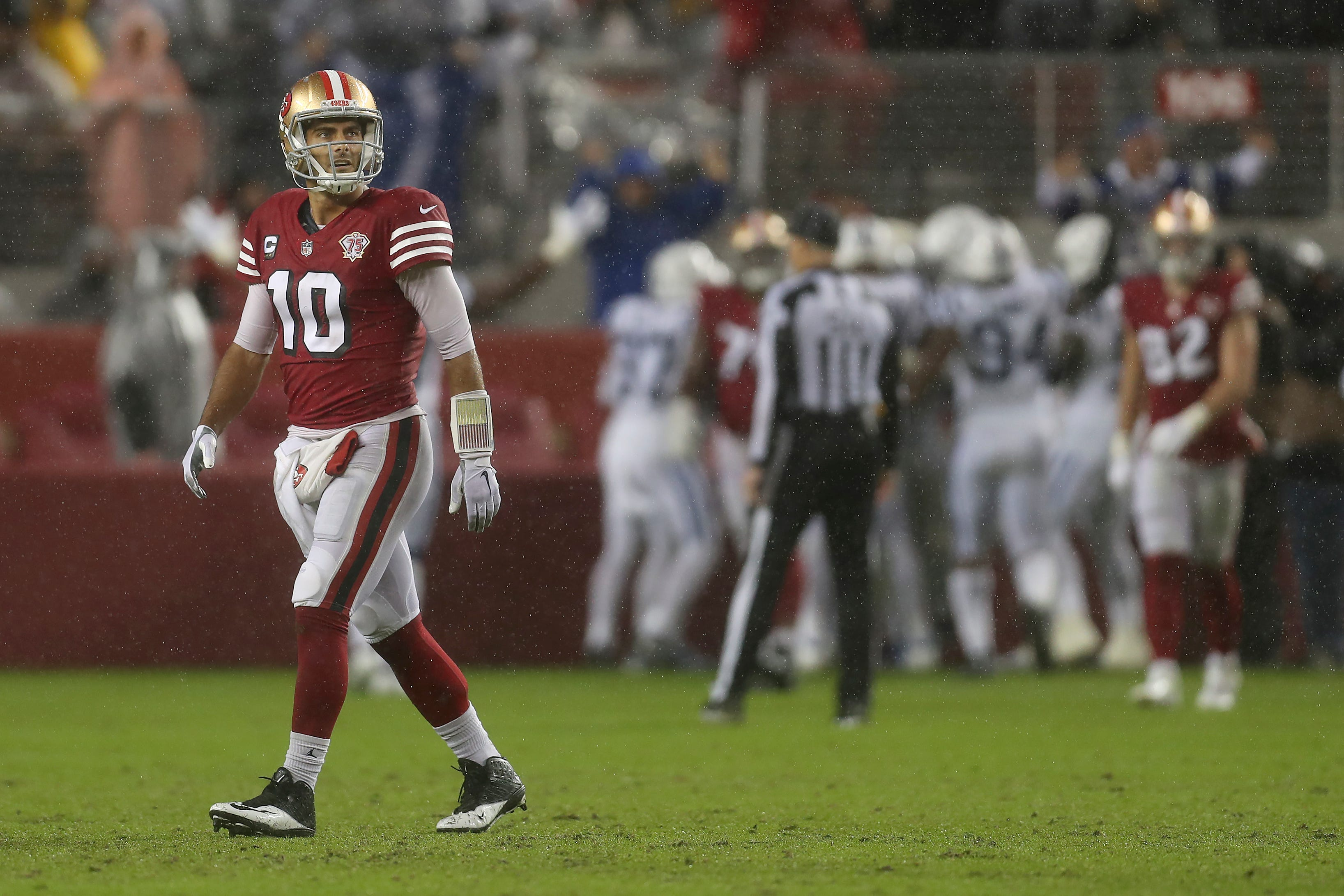 Sloppy 49ers drop 4th straight, losing 30-18 to Colts