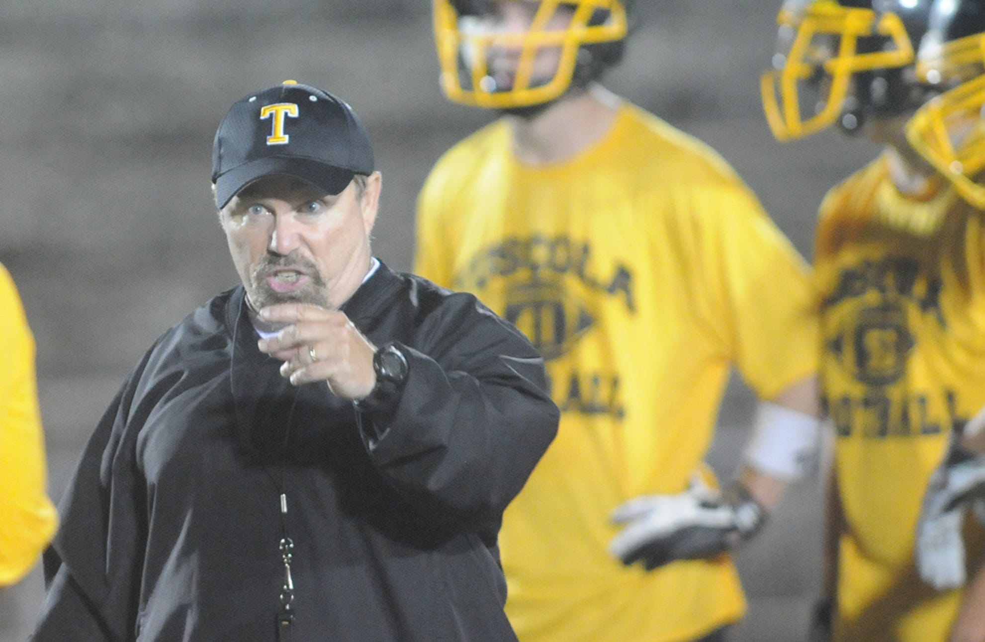 Former Tuscola football coach Donnie Kiefer.