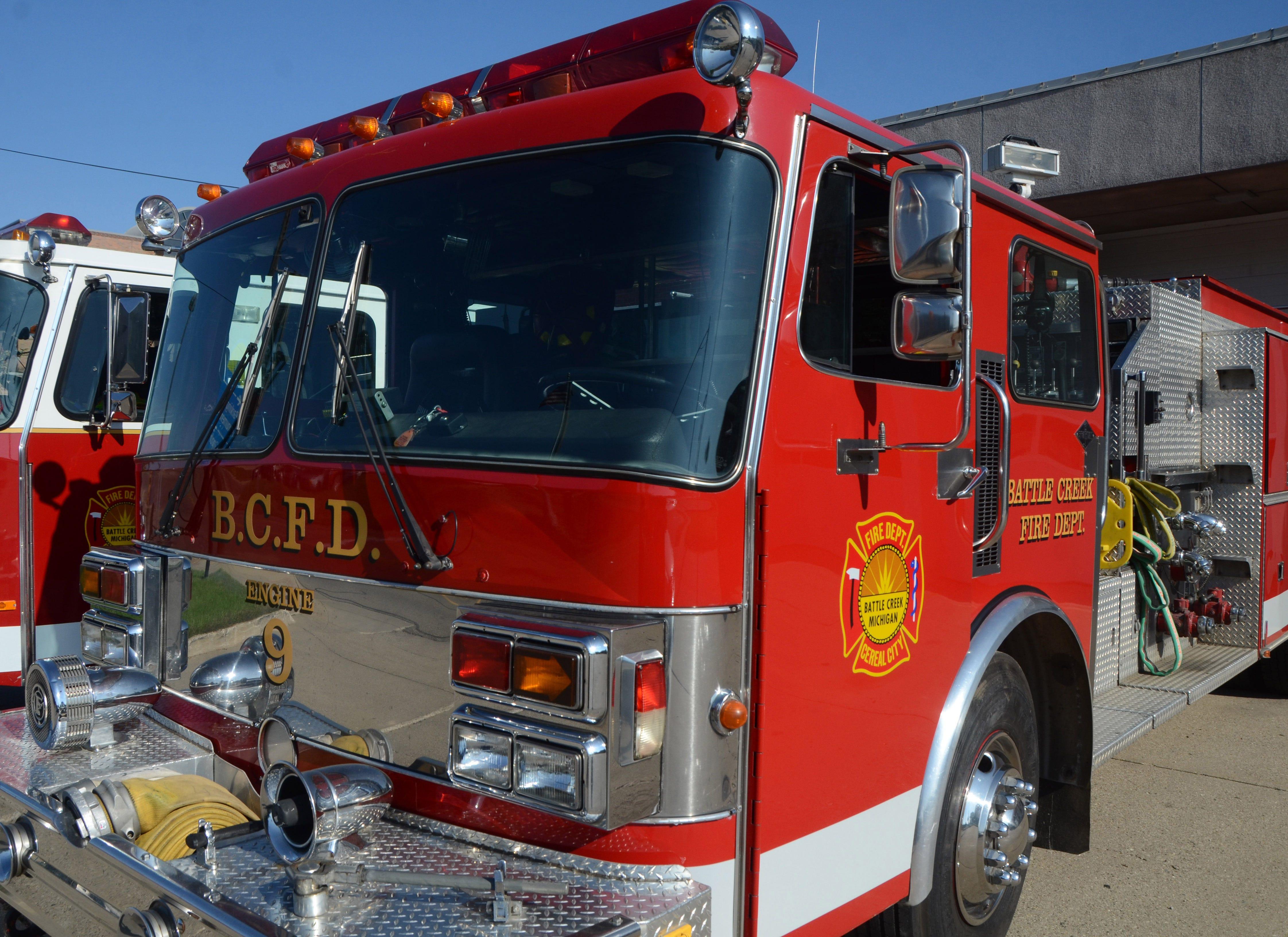Delta Township Fire Department Shoulder Patch Michigan