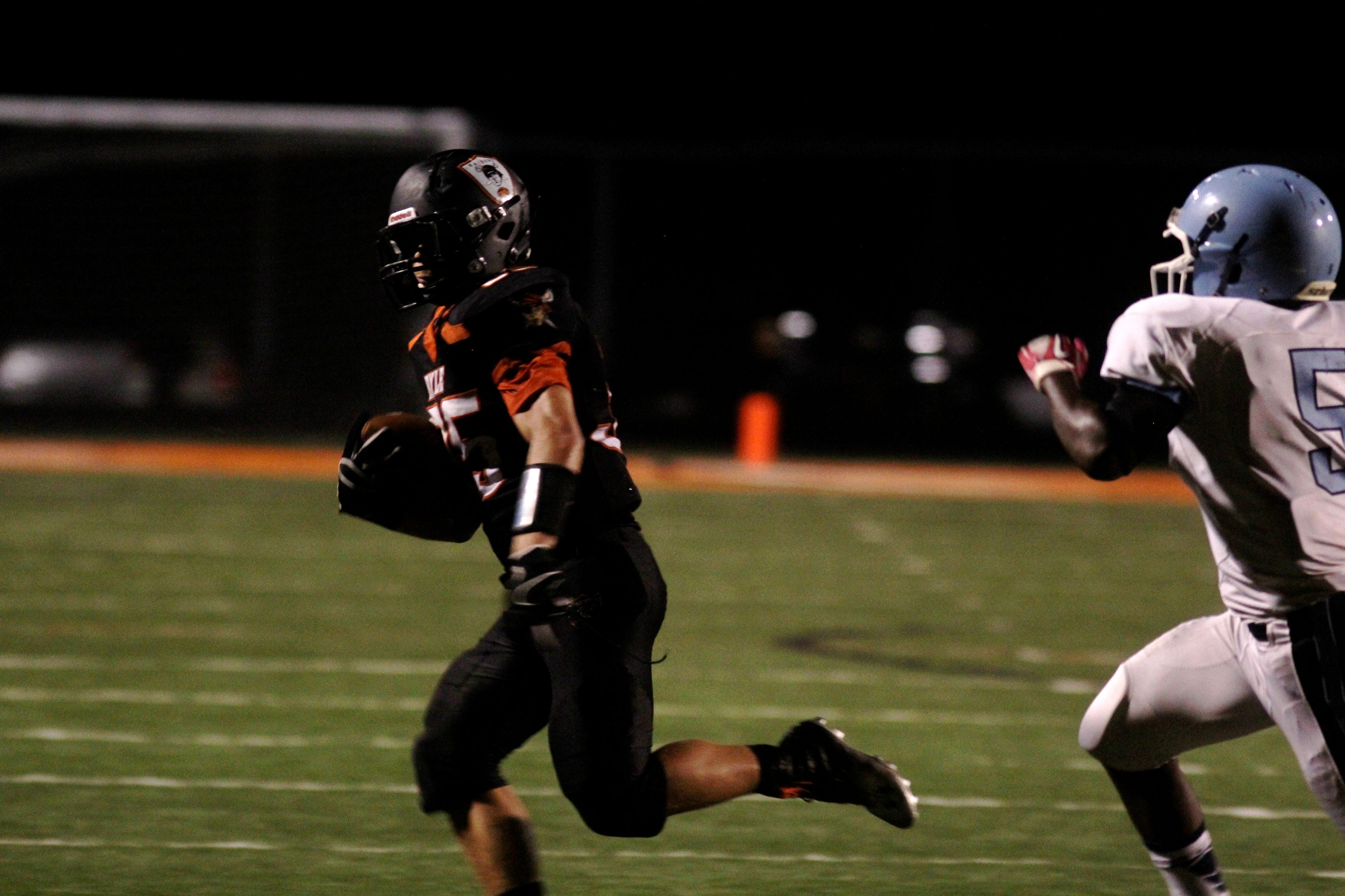 Ryle RB Mitchell Bateman looks for running room in 2013.