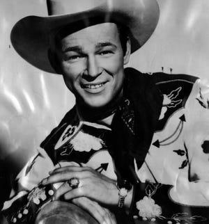 1950: Roy Rogers.