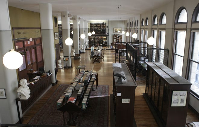 The Mercantile Library.