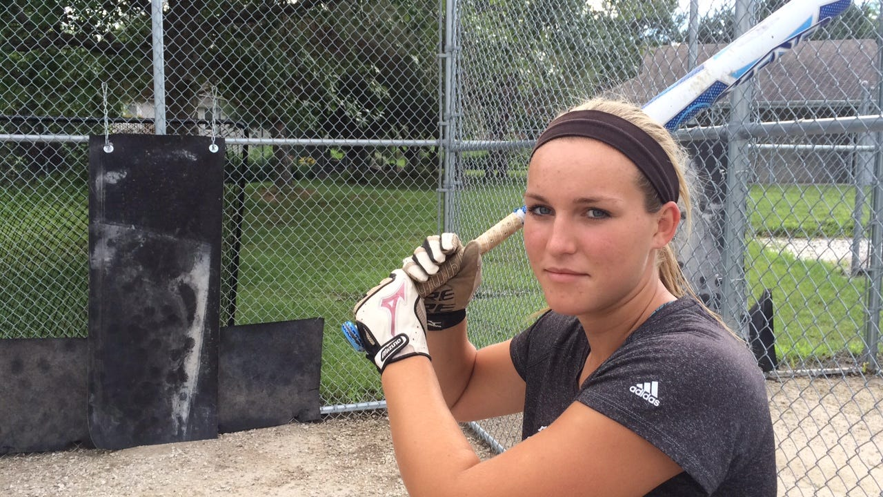 Ankeny Centennial softball standout Kendyl Lindaman leads Iowa high school softball players in walks -- many of them intentional -- by a wide margin.