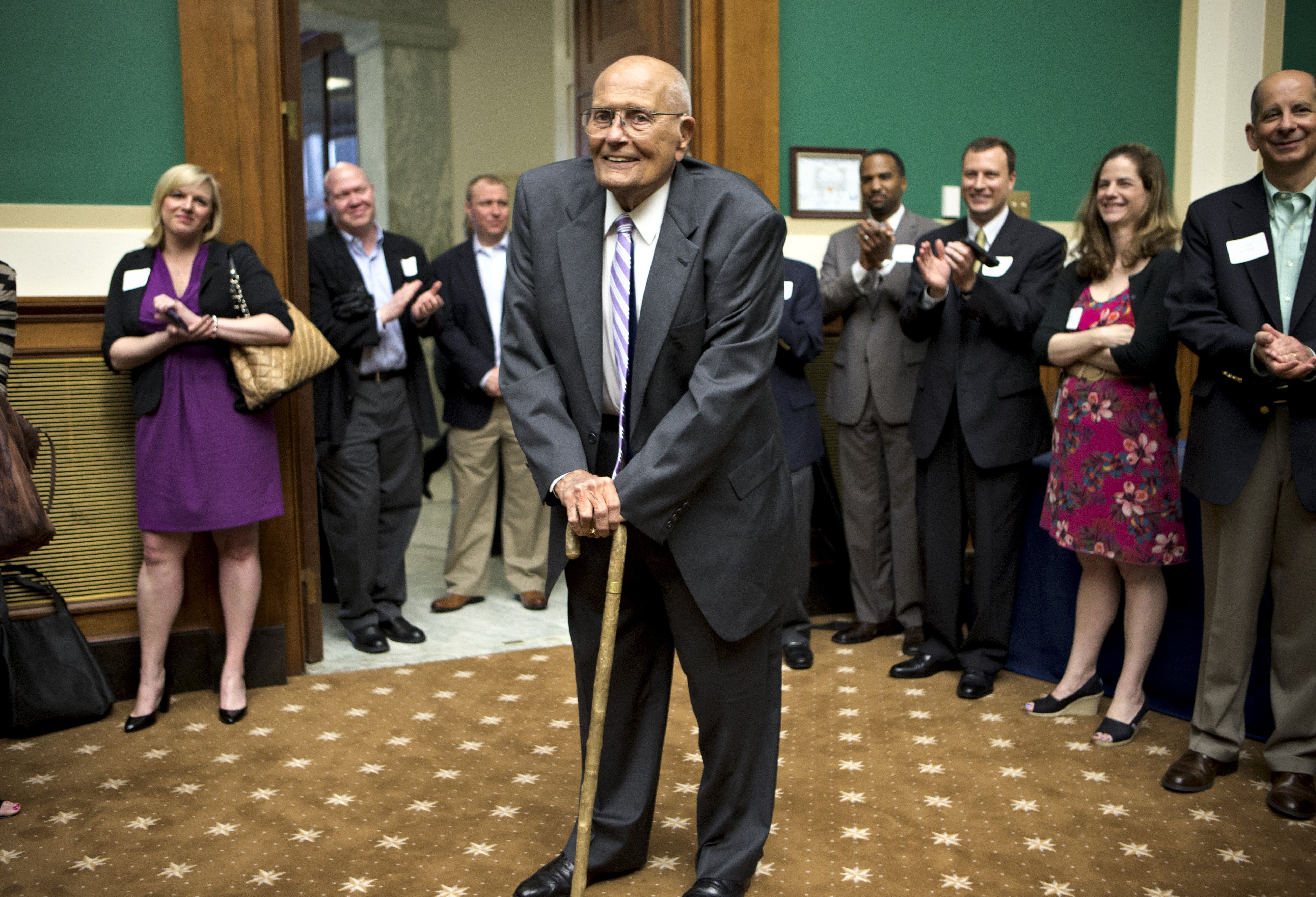 John Dingell recalled as icon: Here's what colleagues, friends are saying