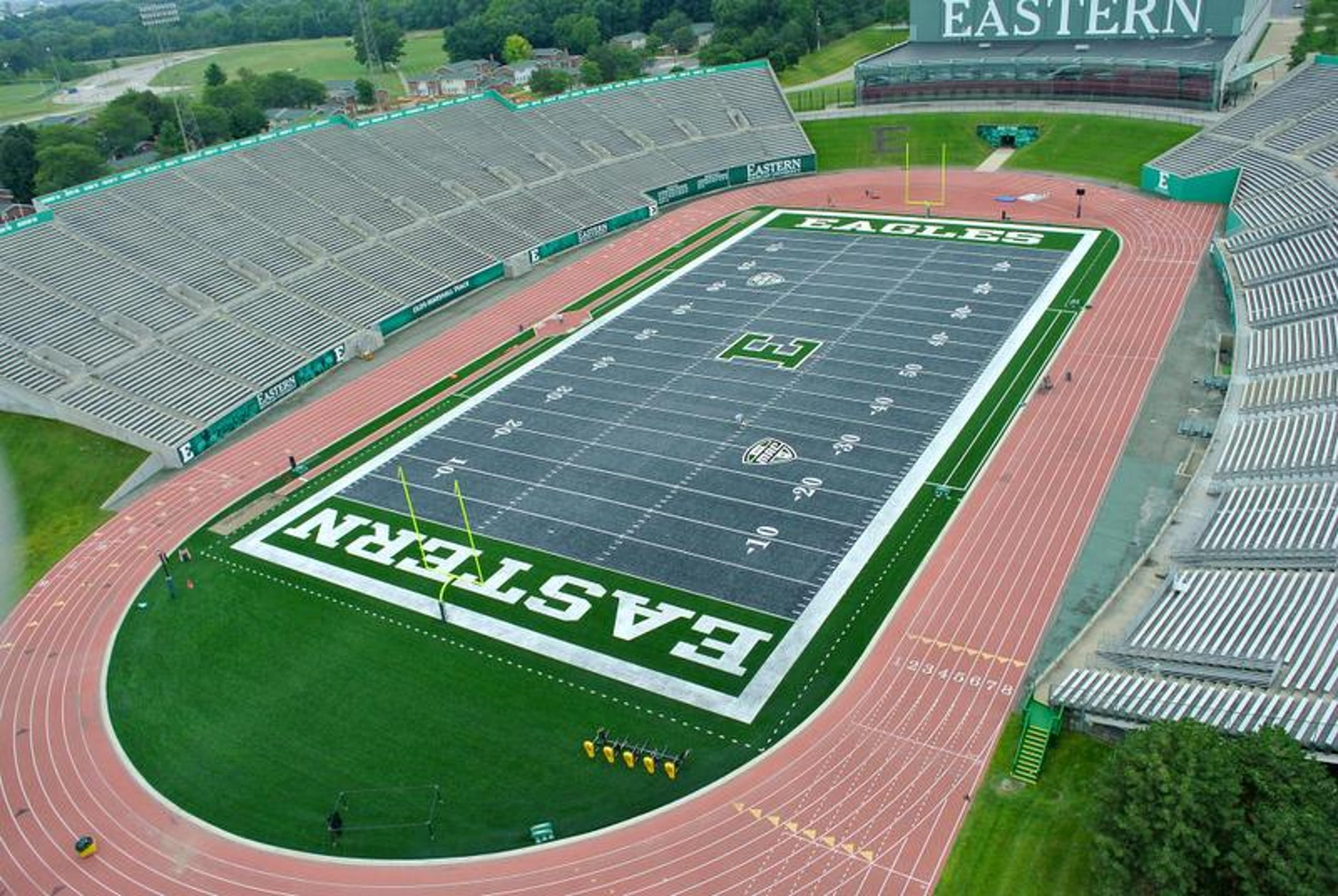 Emu S Gray Football Field
