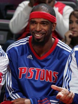 Former Pistons guard Richard Hamilton.