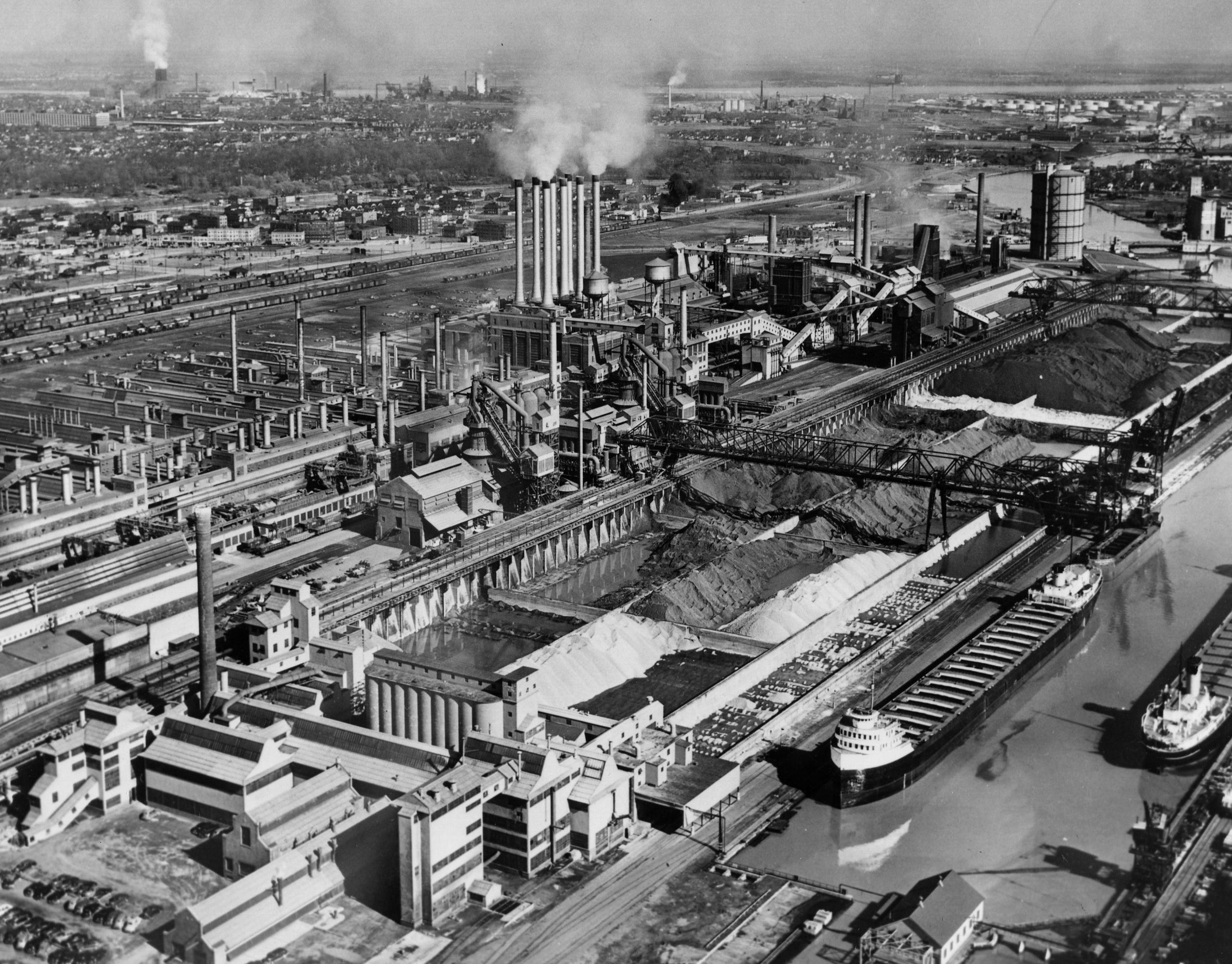 Ford Rouge plant through the years