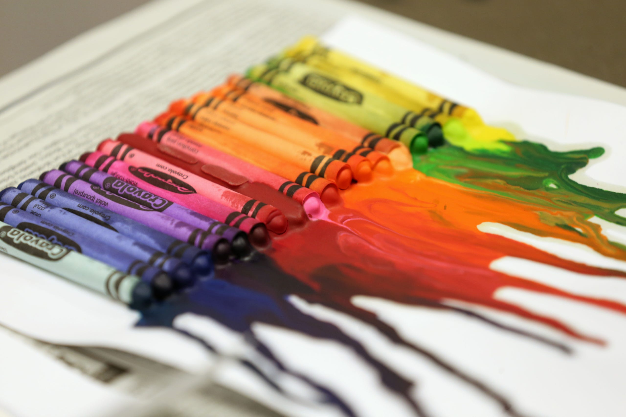 9 Photos Cool Crayon Art At Forest Ave Library