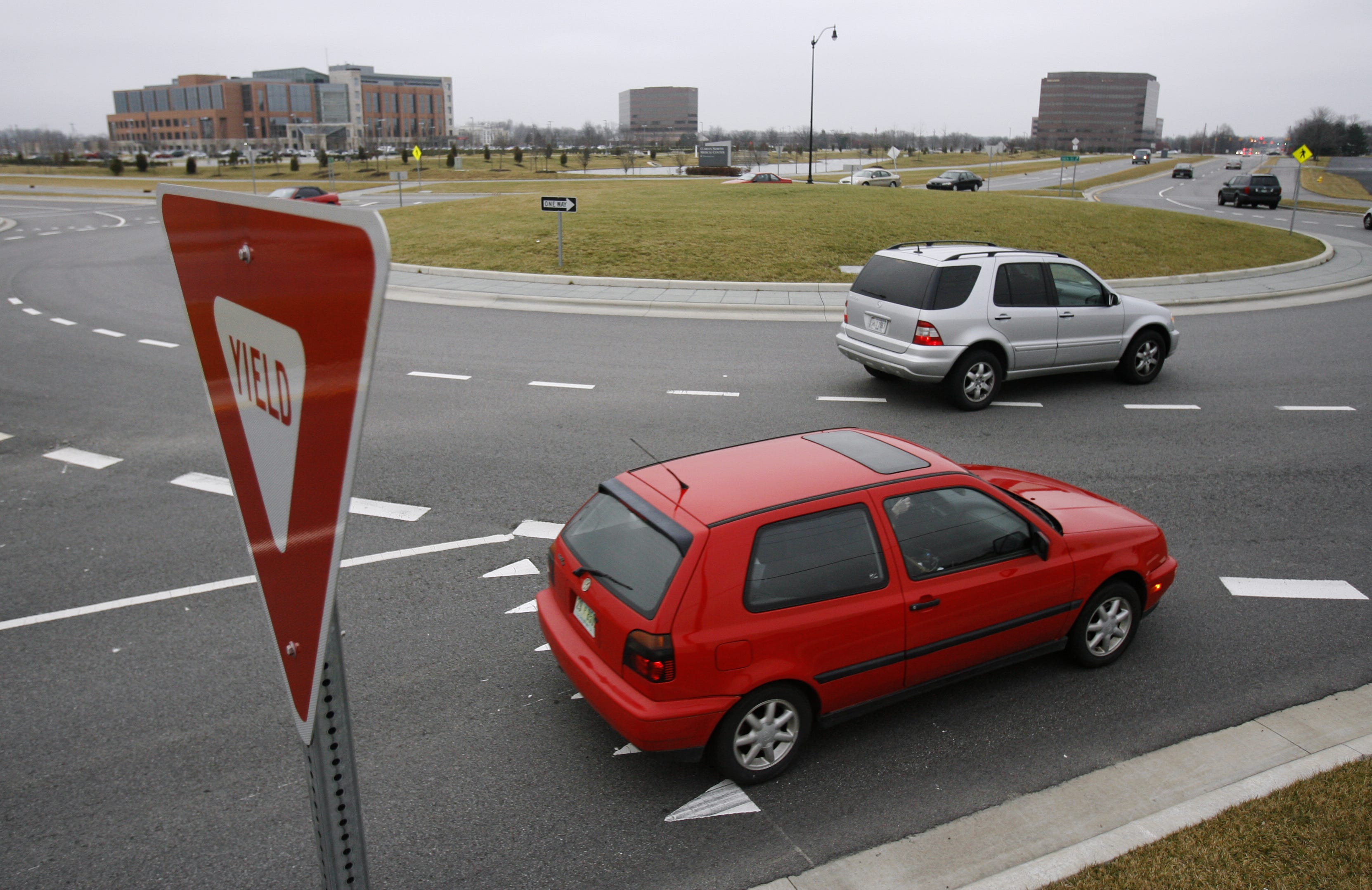 Carmel nixes idea for turn signals in roundabouts