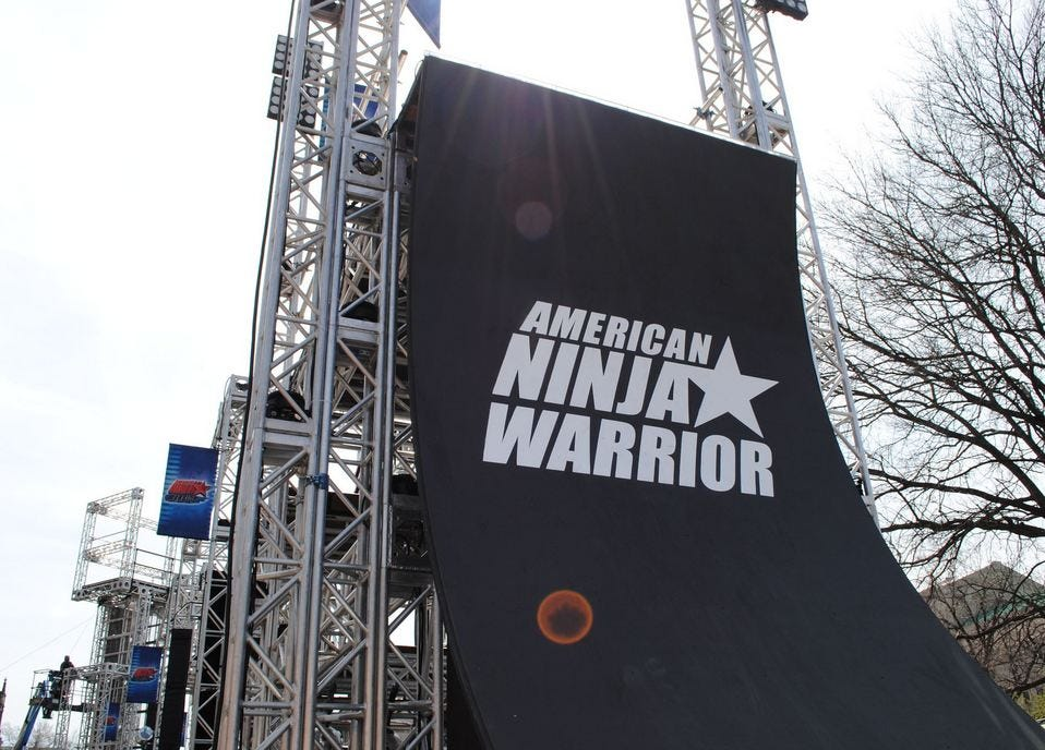 American Ninja Warrior - Page 5 - OOTV -- Two Plus Two Poker Forums