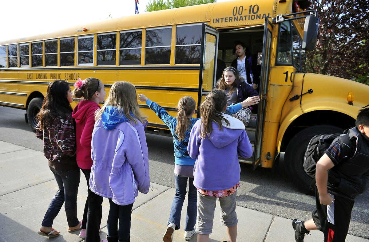 Lansing, East Lansing work on school bus issues