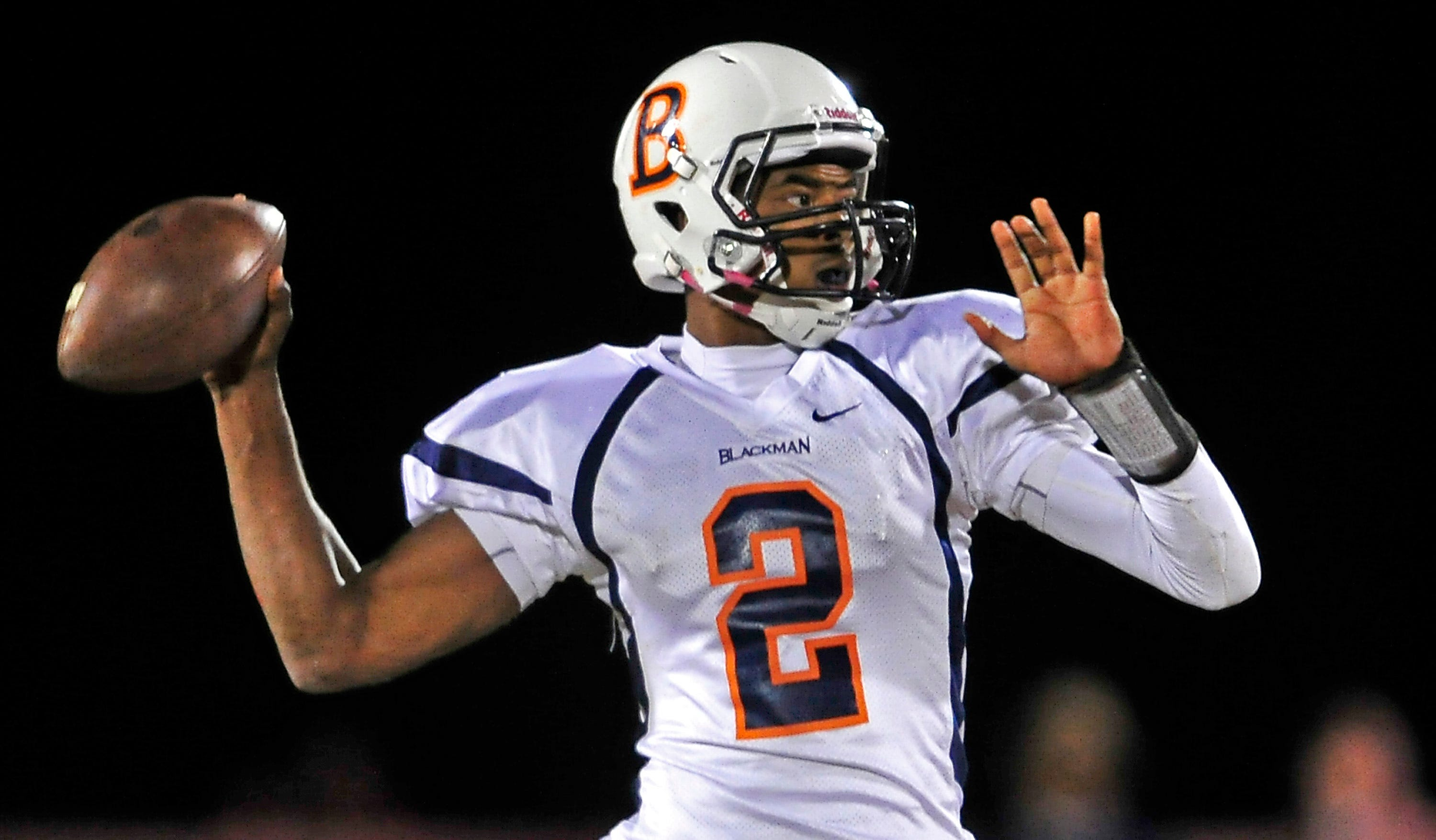 Blackman quarterback Jauan Jennings, rated the top football prospect in the state by 247Sports.com, passed for 1,462 yards and 14 touchdowns last season. He has committed to UT.