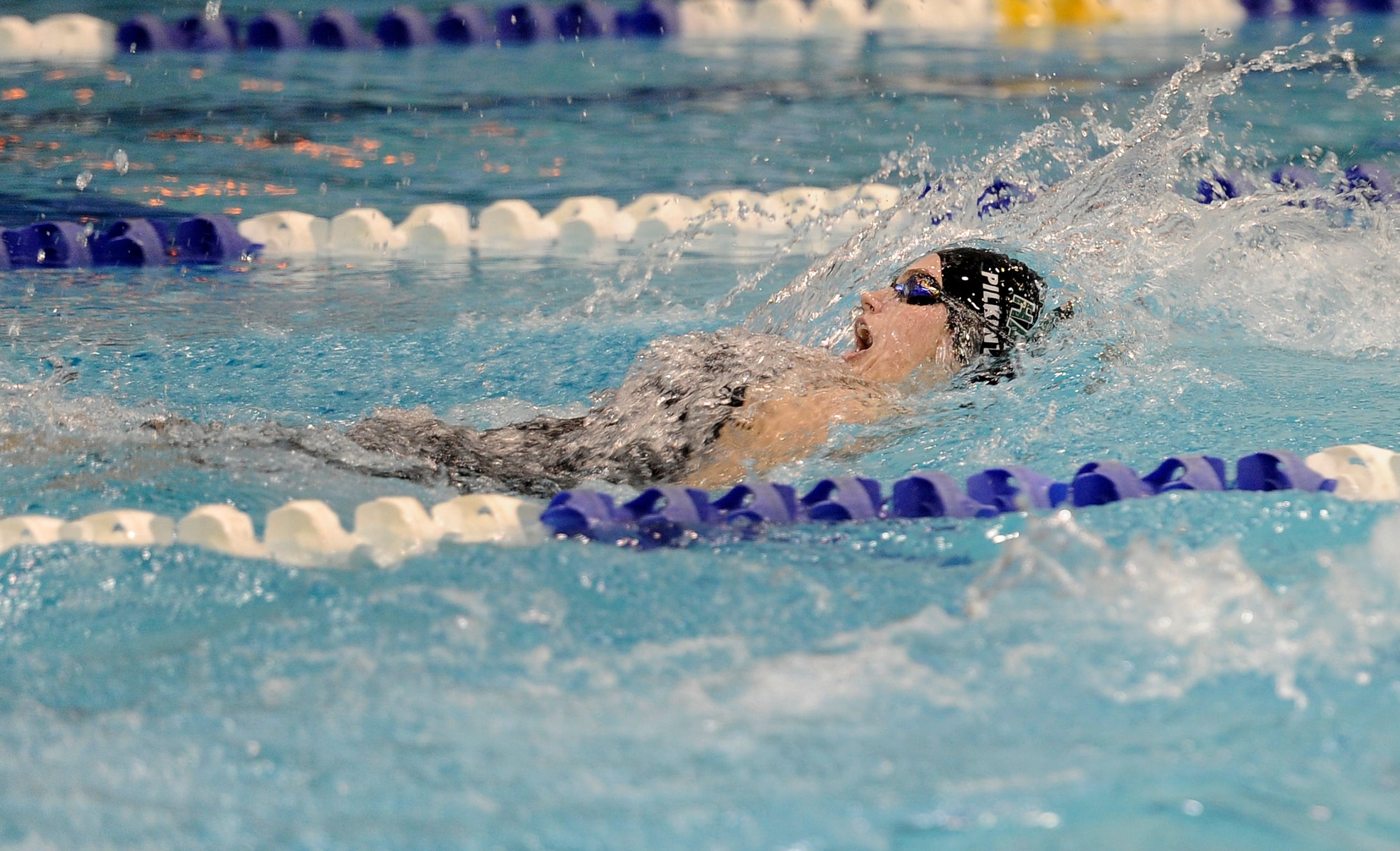 Harpeth Hall's Sophie Pilkinton was named All-American in the 200-yard IM after posting one of the top 100 times in the nation (2:01.42).