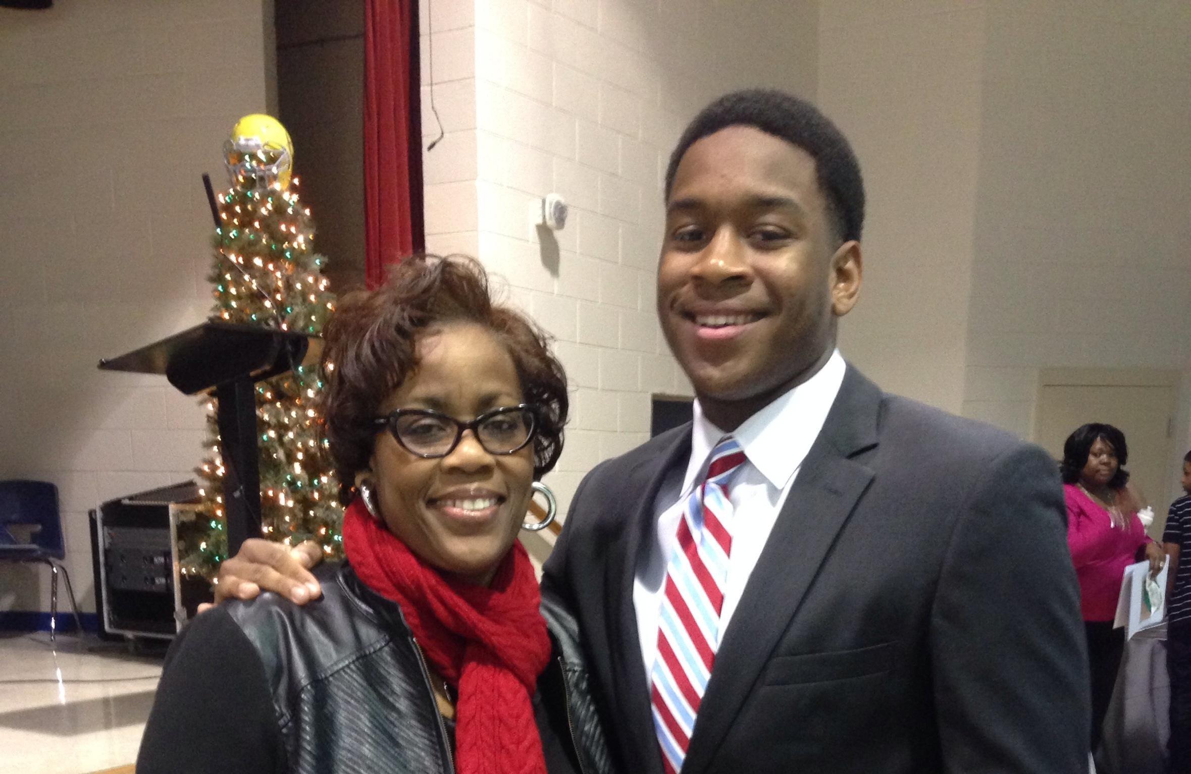 Kyle Phillips is the son of Tennessee State athletics director Teresa Phillips.