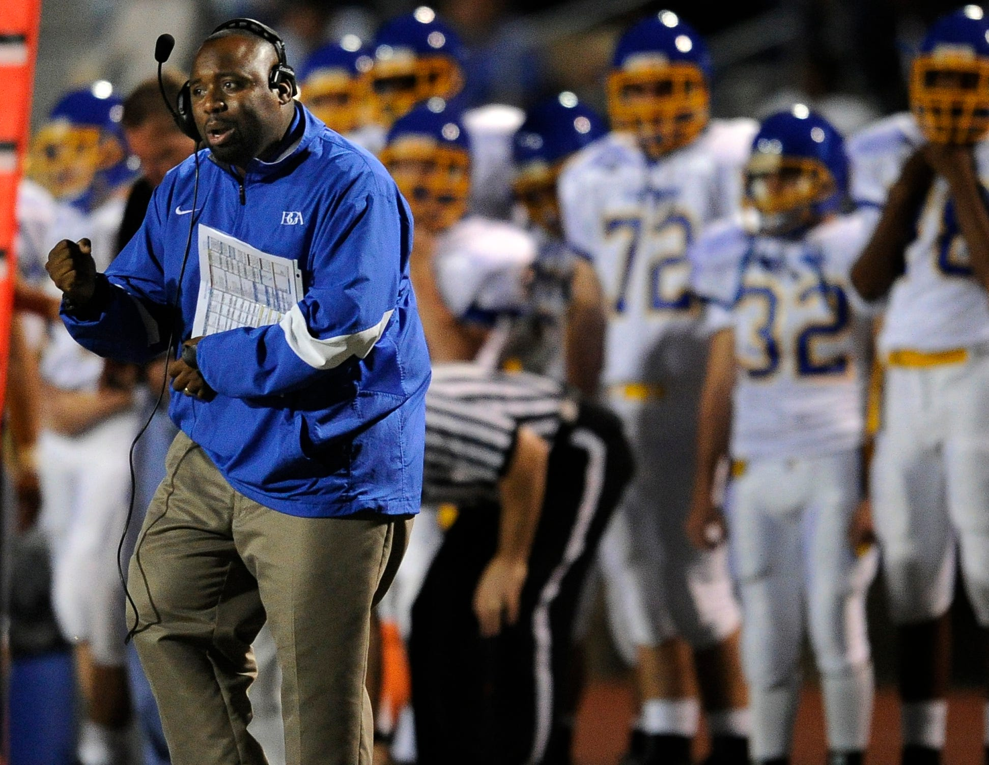 Head Coach Roc Batten will try to lead his Battle Ground Academy squad to a Division II-A state title.