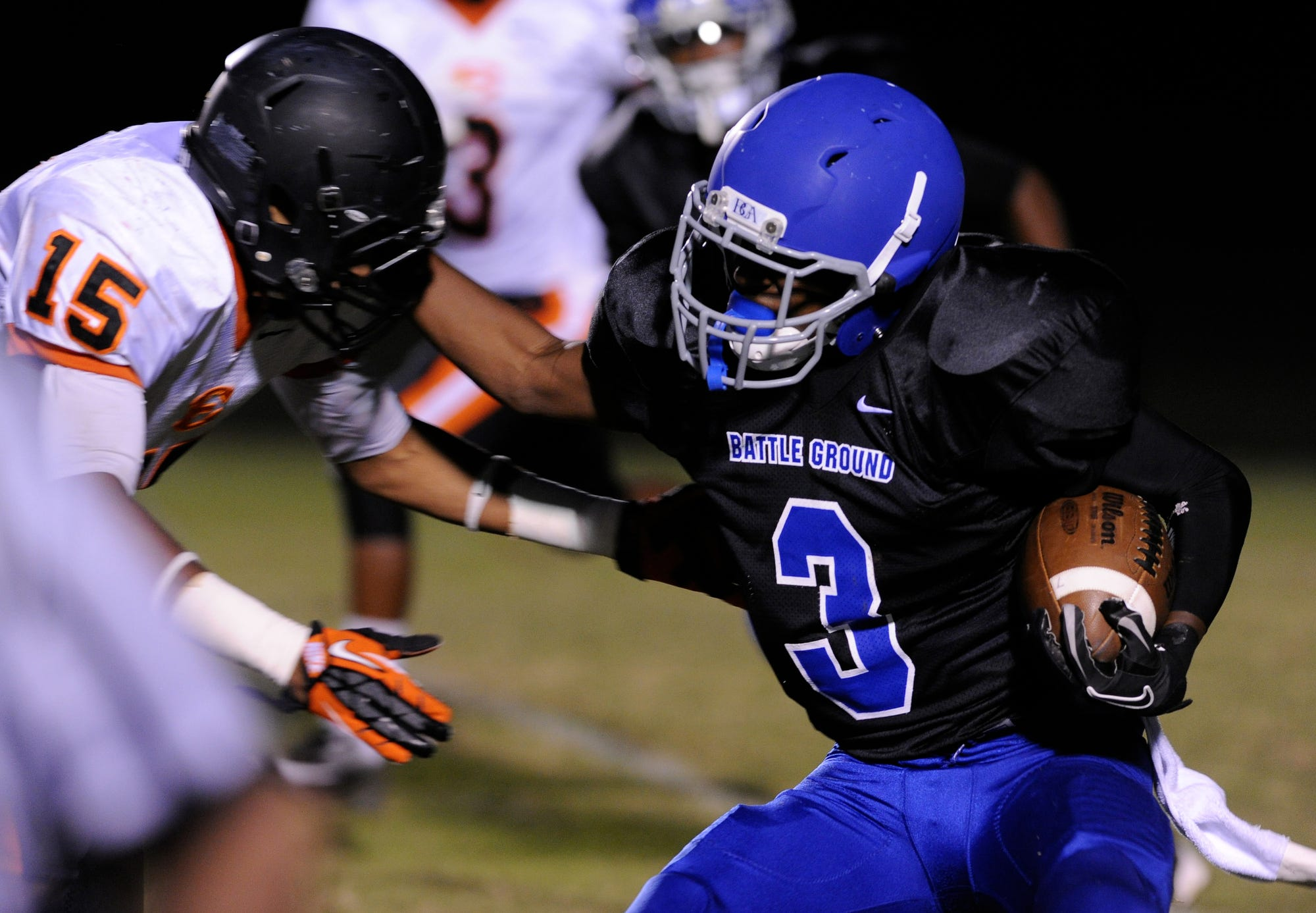BGA's Ronald Cleveland will be one of the players to watch in Division II-A this season.