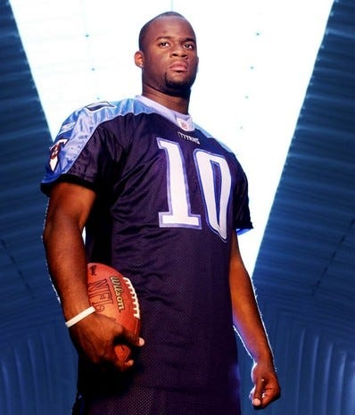 Former Titans QB Vince Young fired from part-time job at Texas