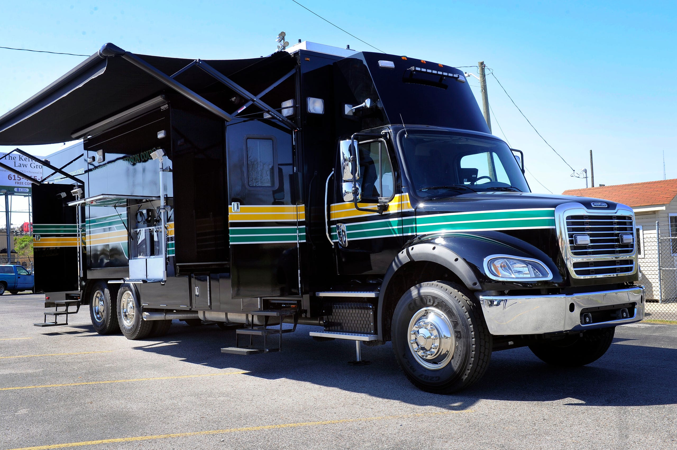Mobile Booking Unit put in service by Davidson County
