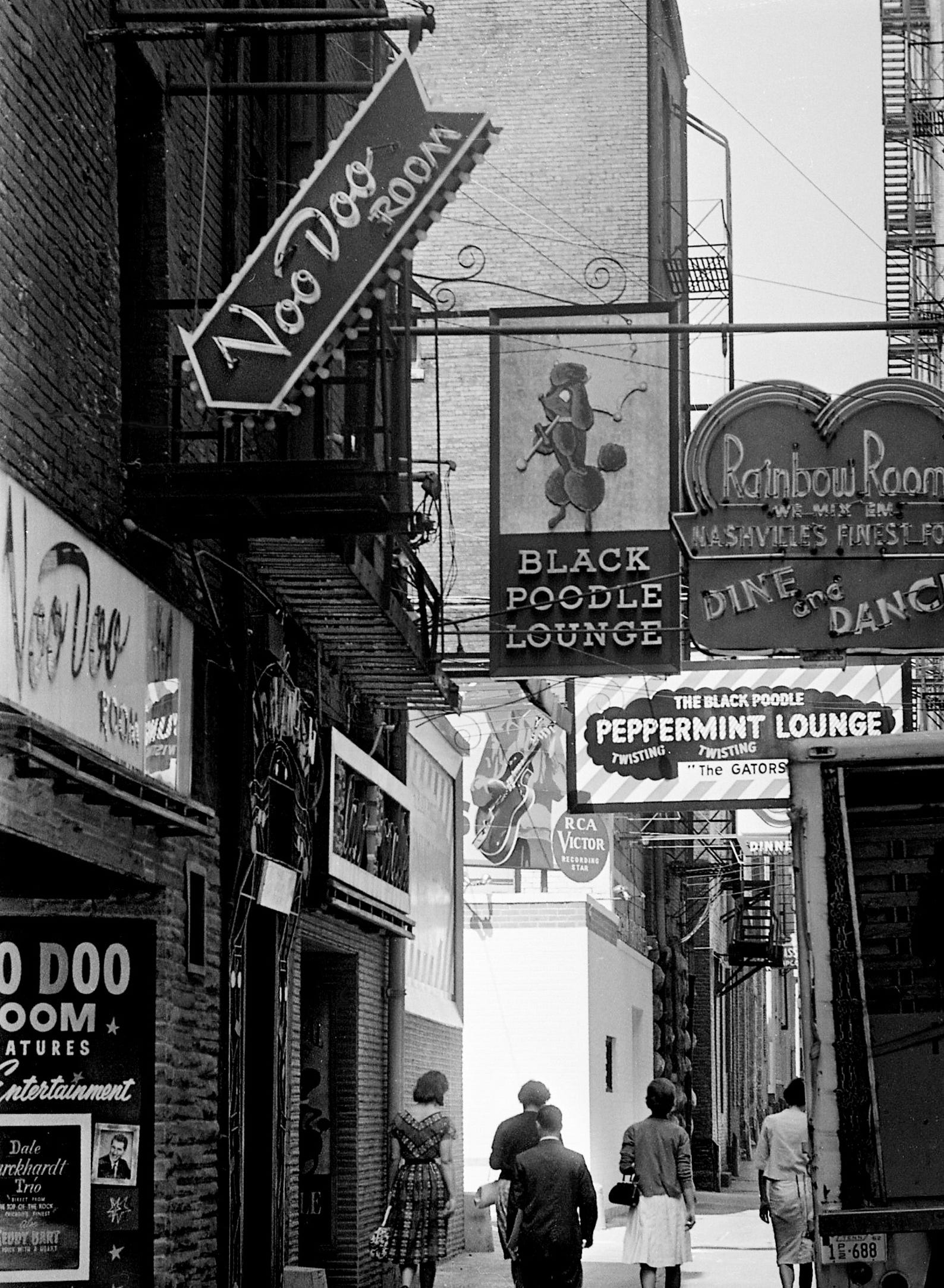 Printers Alley Over The Years