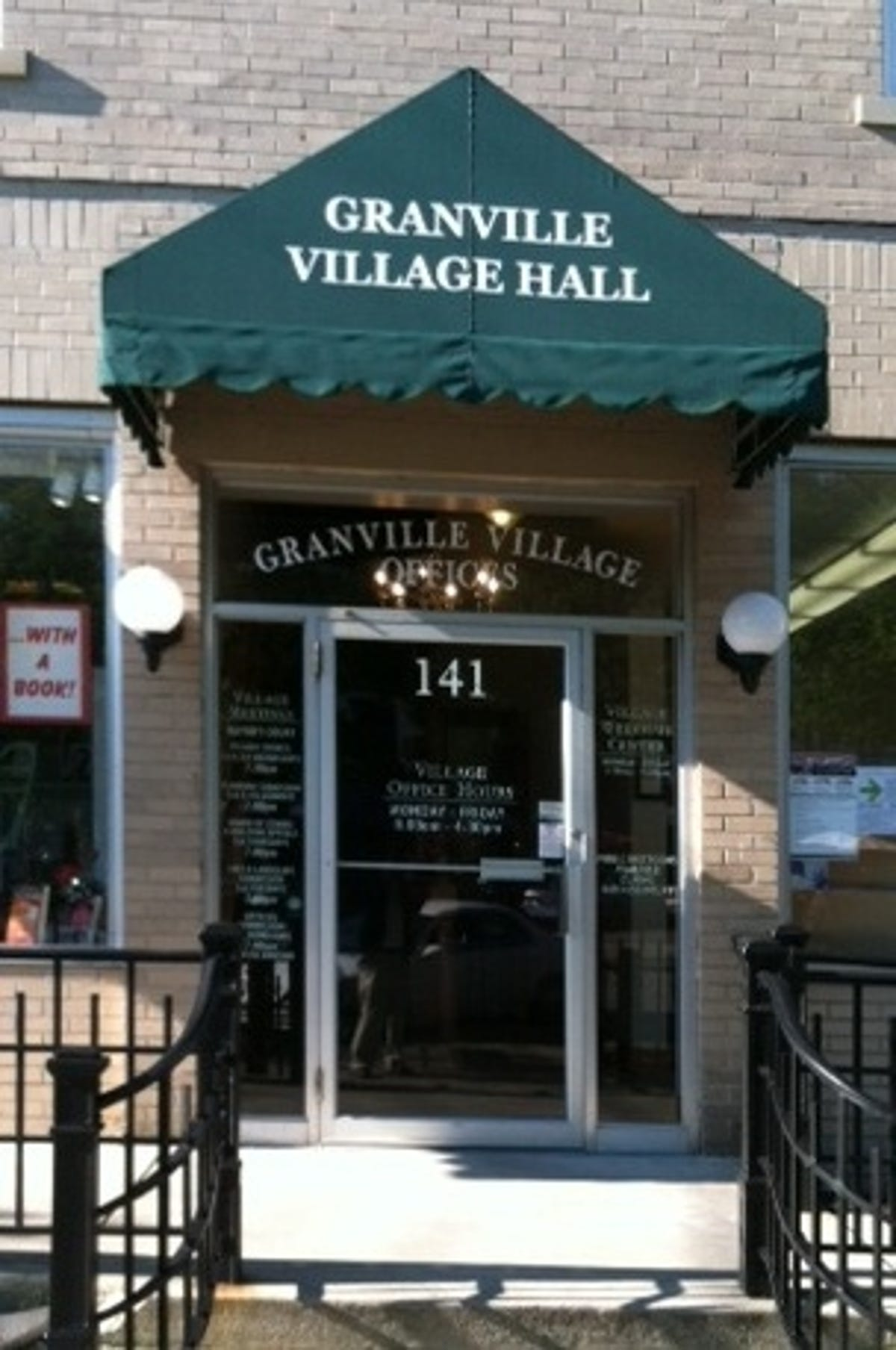 Village reminds residents of snow removal law