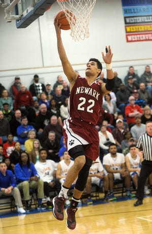 Former Newark star athlete Darius Shackleford died in a car crash Saturday night in Youngstown. He played basketball for the Division I district champion Wildcats in 2015.