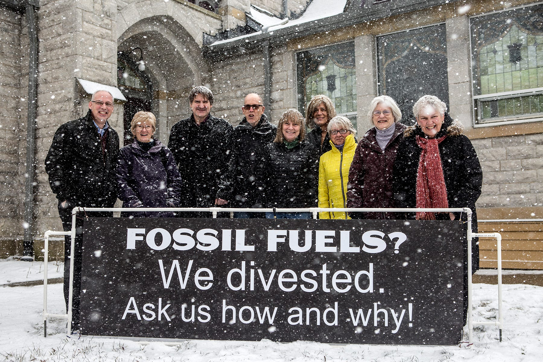 Granville church confronts global warming