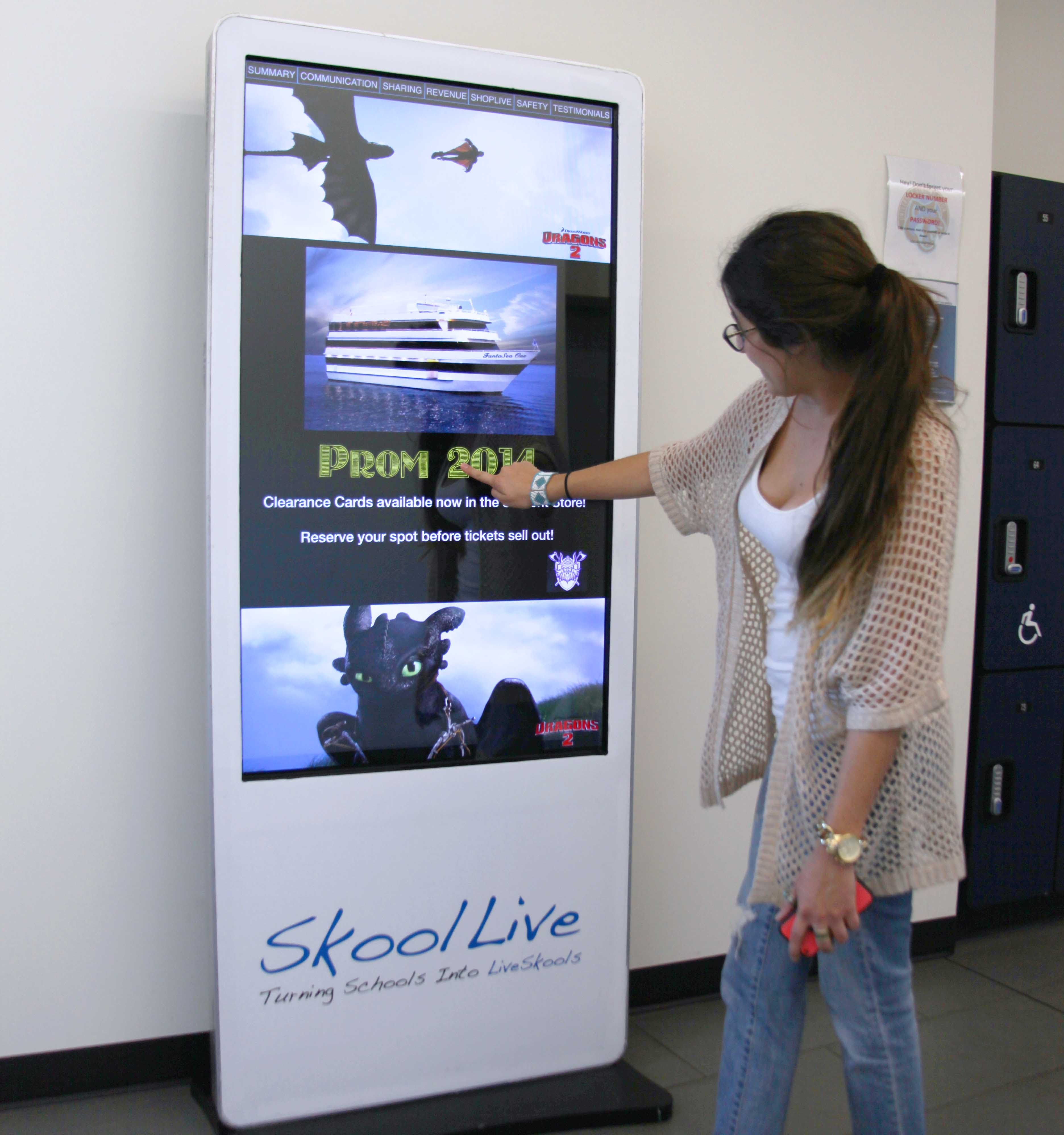 Schools that want digital billboards in hallways: Coachella Valley Unified (CA)