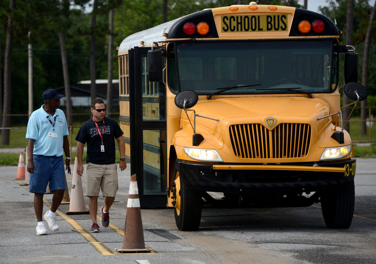 Becoming an Escambia school bus driver isn't easy