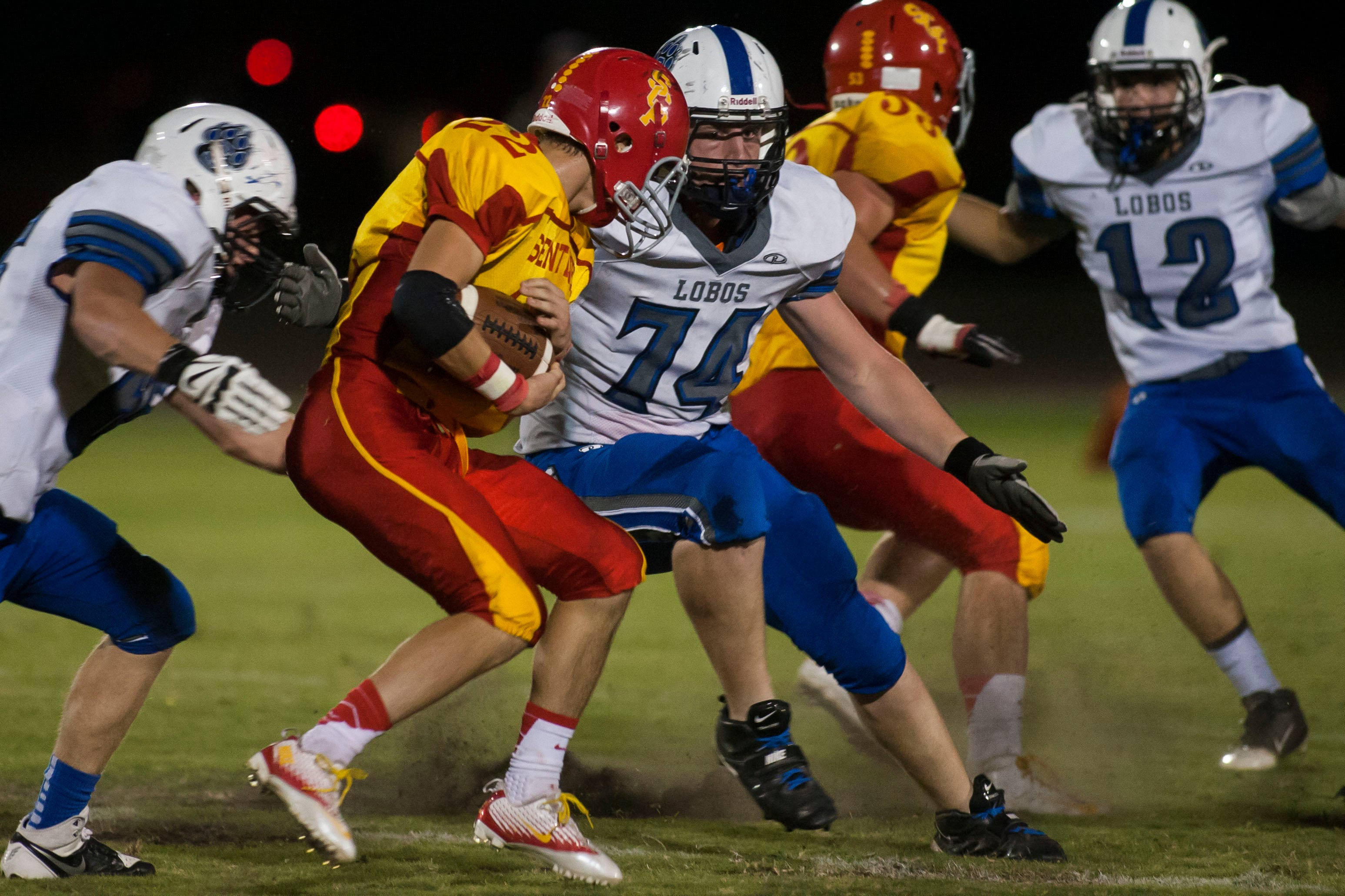 Seton Catholic senior running back Antonio Campanella, along with an experienced receiving corps, carries the Sentinels' hopes for a title.