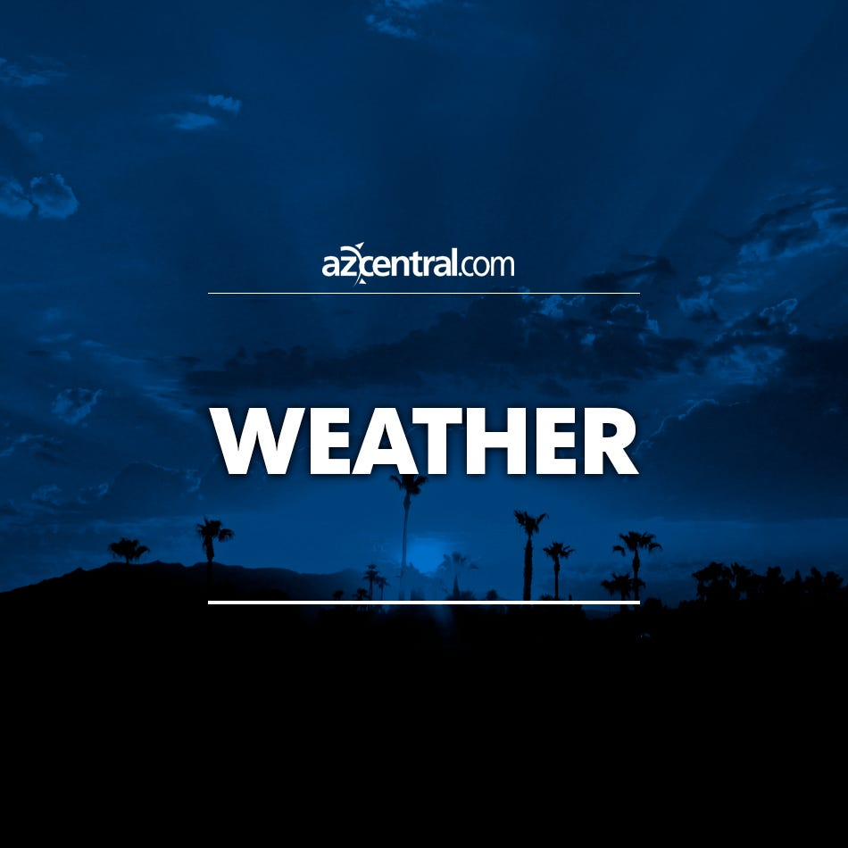 National Weather Service issues flash flood warning for Cave Creek and Carefree areas | Arizona Central