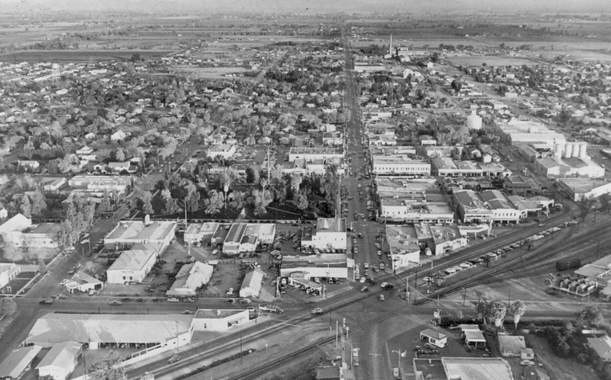 Arizona Then and Now: Downtown Glendale