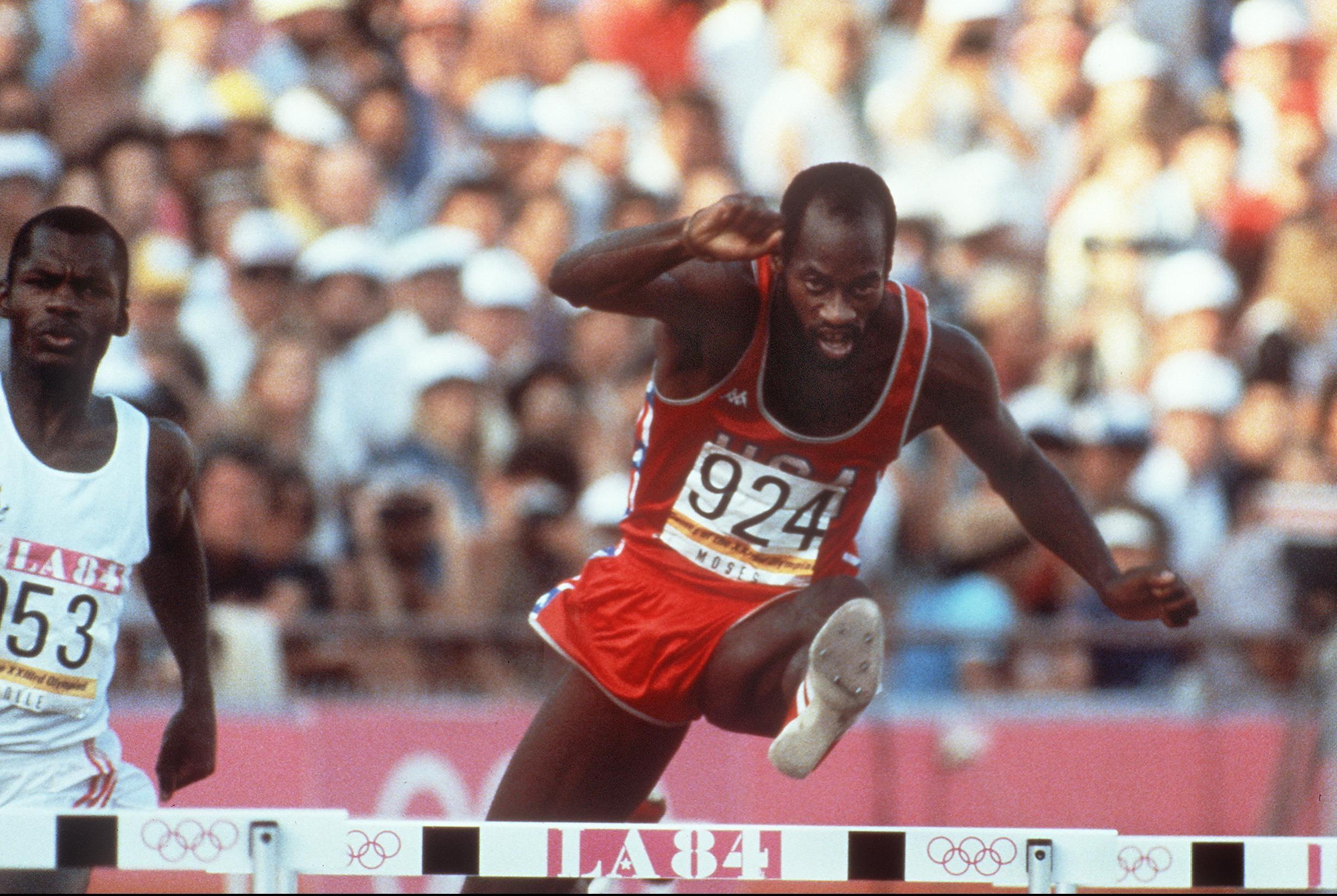 olympic hurdler moses - HD2463×1651