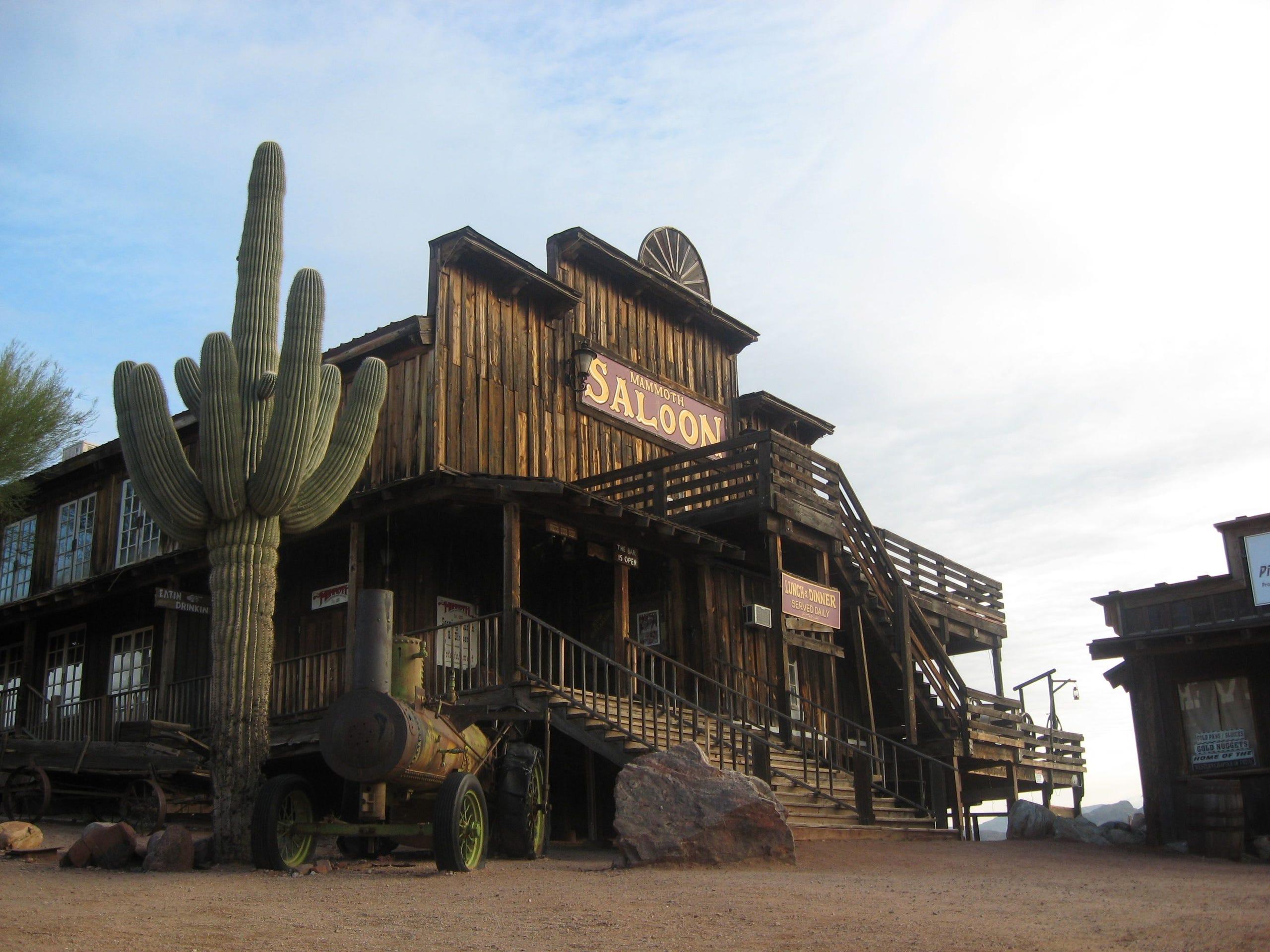 Arizona history photos: Mining and ghost towns