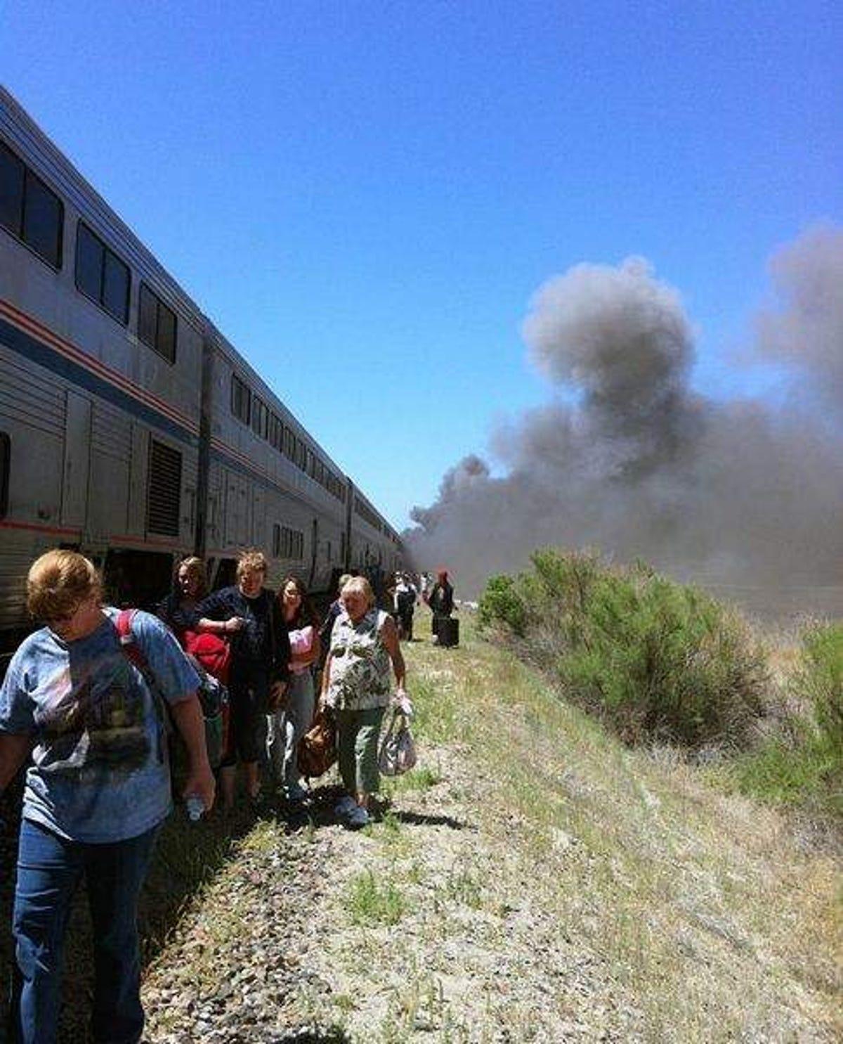 Amtrak train crash: 6 confirmed dead