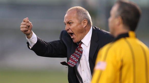 Rhinos coach Pat Ercoli